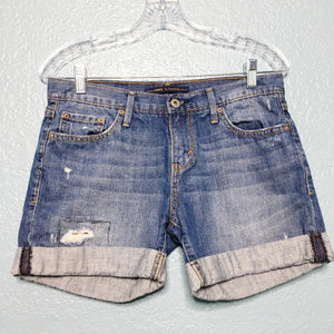 Levi's | Distressed Boyfriend Jean Shorts